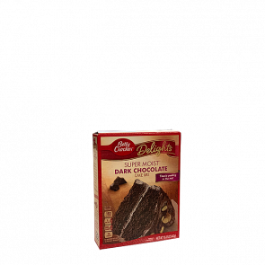 Betty Crocker Super Moist Dark Chocolate Cake Mix