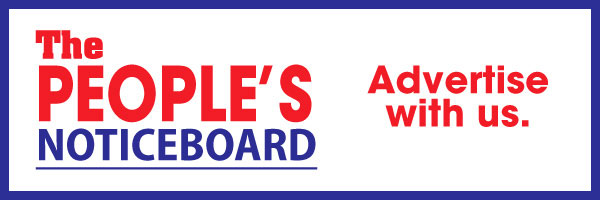 Advertise on The People's noticeboard